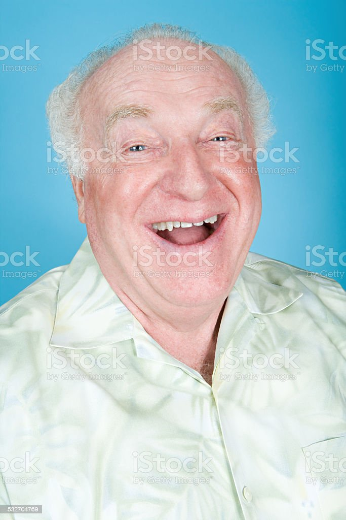 Jolly man stock photo