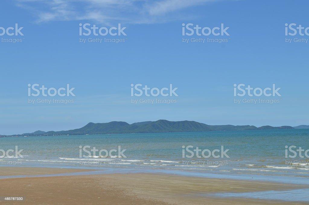 Jomtien Beach, Pattaya, Thailand stock photo
