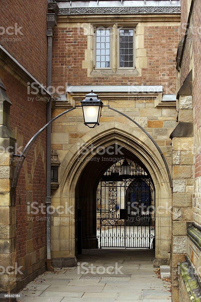 Jonathan Edwards College royalty-free stock photo