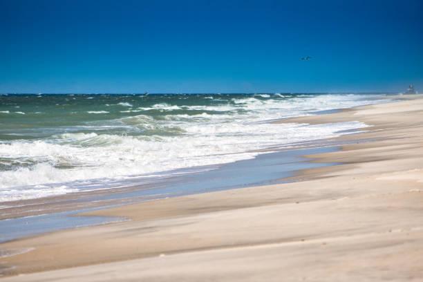 Jones Beach, Fire Island, New York stock photo