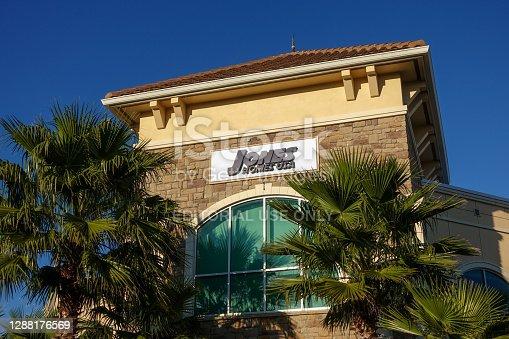 Orlando, FL/USA-1/28/20:  A Jones Homes USA and Emerson Group office in Lake Nona, Orlando, Florida. Jones Homes USA and Emerson Group are a privately held United Kingdom company that builds homes.