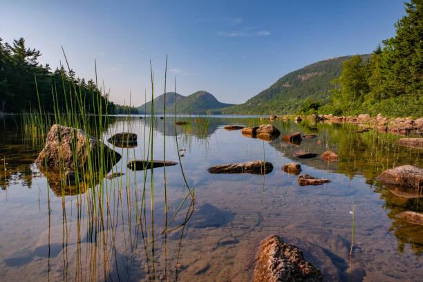 Jordan Pond, Acadia Nationalpark, Maine, USA – Foto
