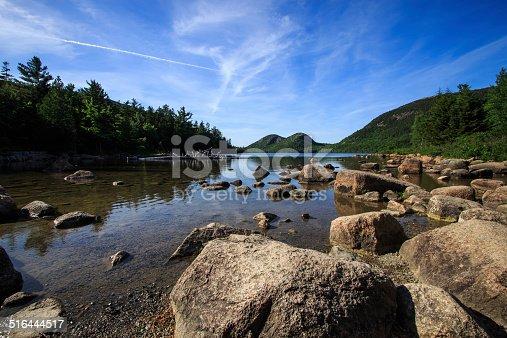 istock Jordan Pond, Acadia National Park 516444517