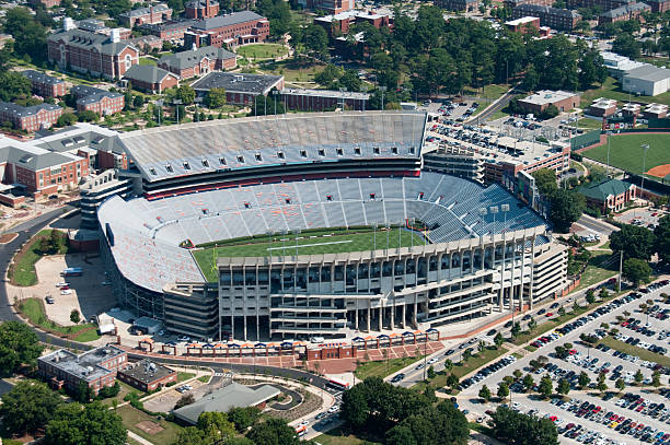 Jordan-Hare Stadium stock photo