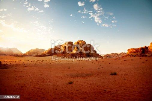istock Jordanian dessert at sunrise 185099703