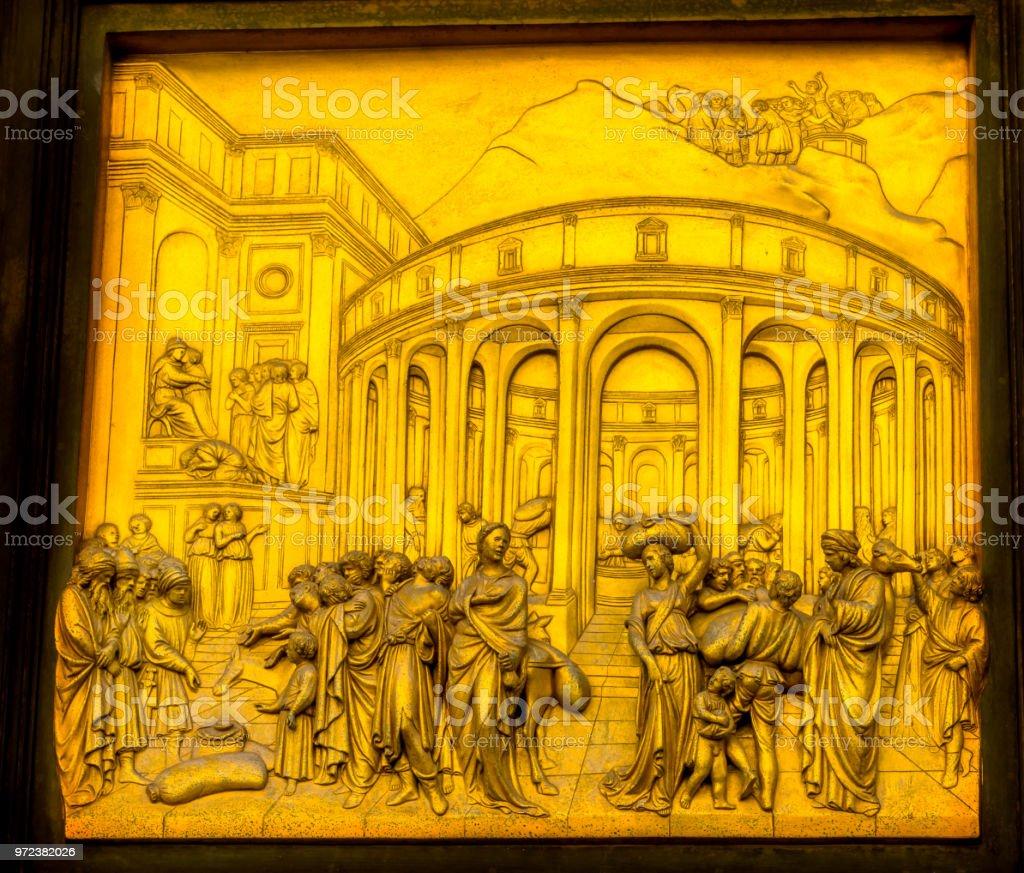 Jose Ghiberti Paraiso Puerta De Bronce Baptisterio Catedral Catedral