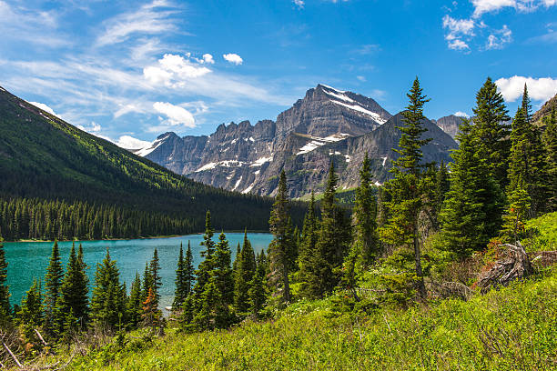 josephine lake, montana - montana western usa stock pictures, royalty-free photos & images