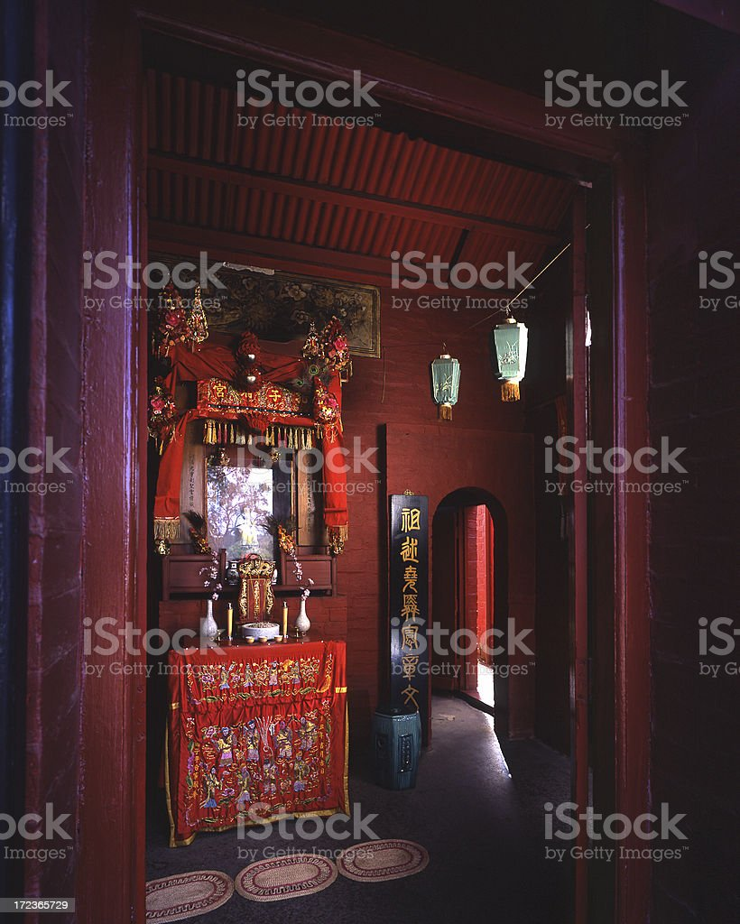 Joss House royalty-free stock photo