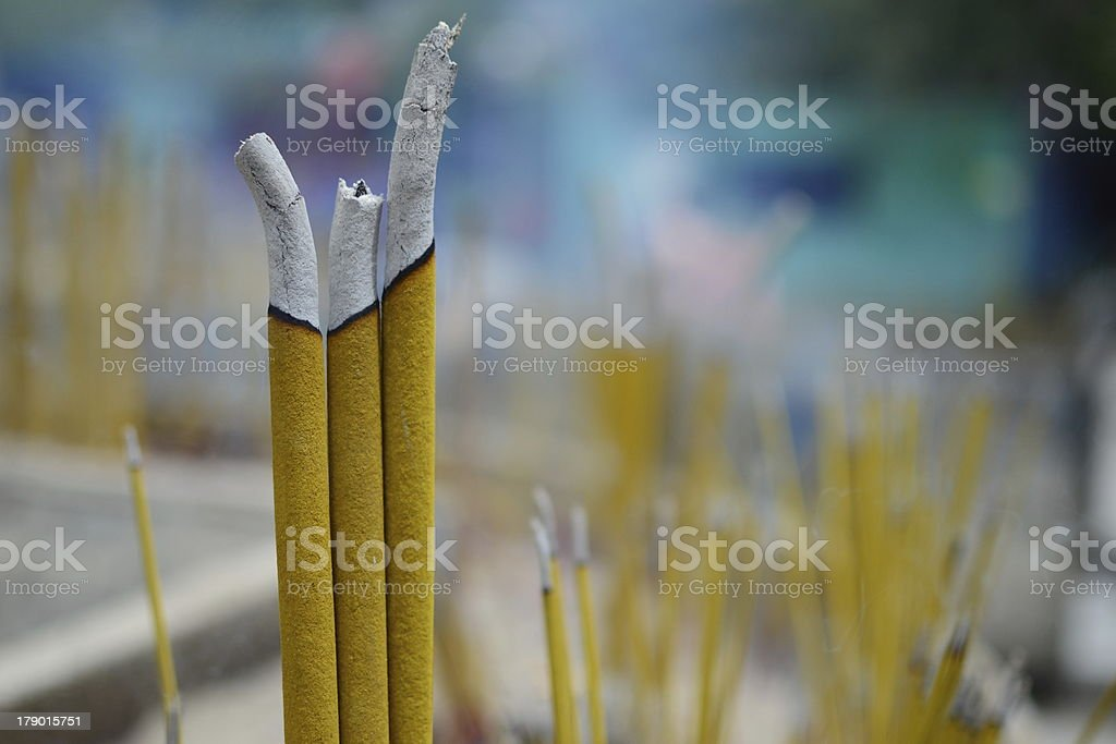 Joss sticks royalty-free stock photo