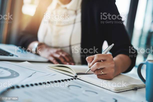Jot It Down And Just Do It Stock Photo - Download Image Now