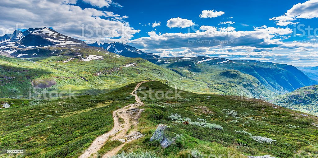 Jotunheiman National Park, Norway stock photo