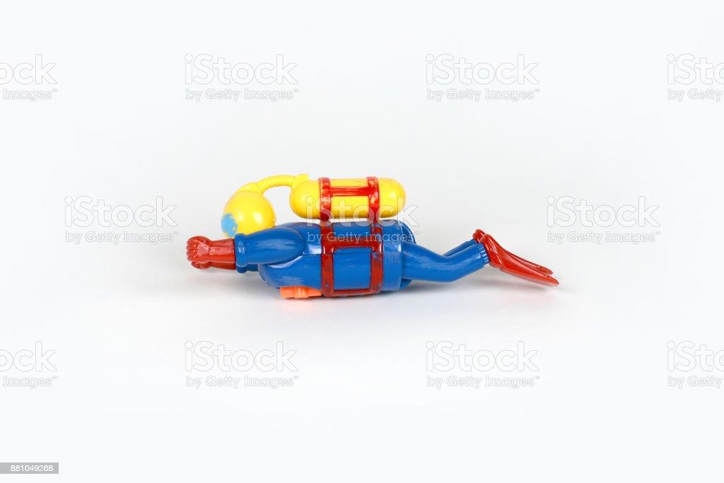 Plongeur Jouet - foto de acervo