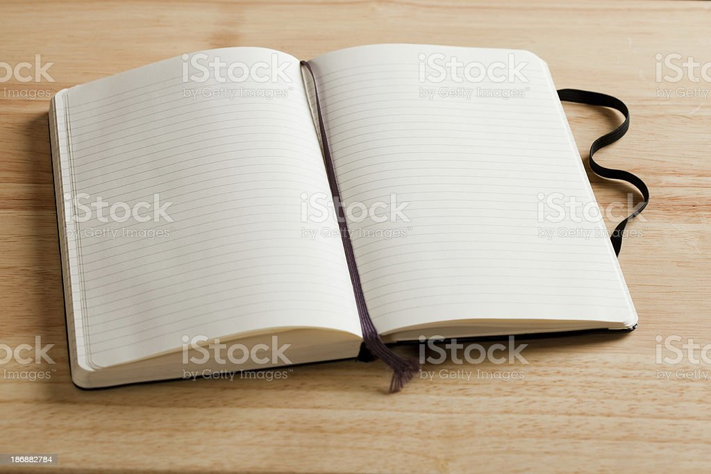 Journal On Desk royalty-free stock photo