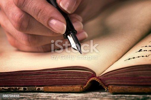 istock Journal writing 586704412