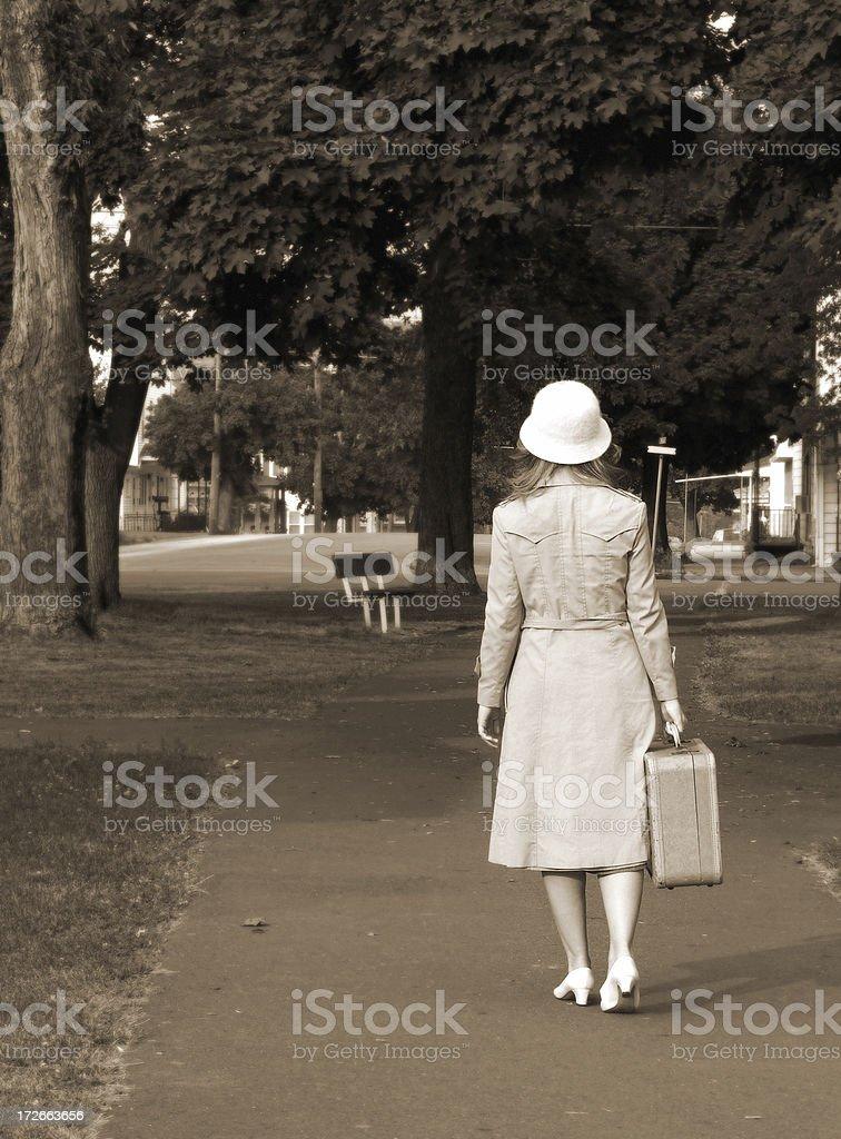 Journey Home stock photo