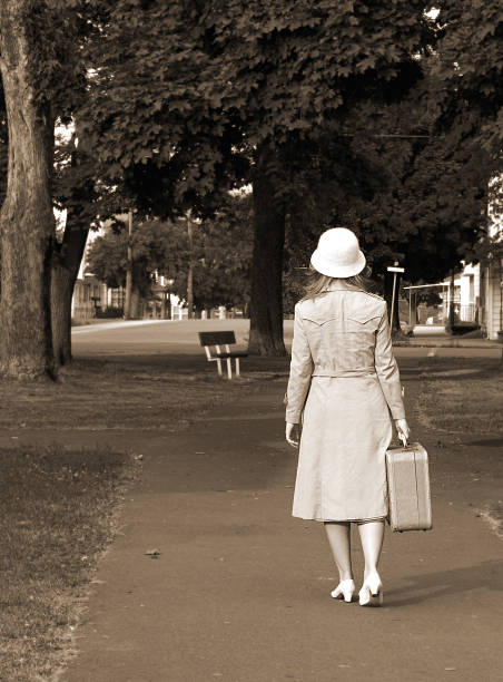 journey home - 1940s style stock photos and pictures