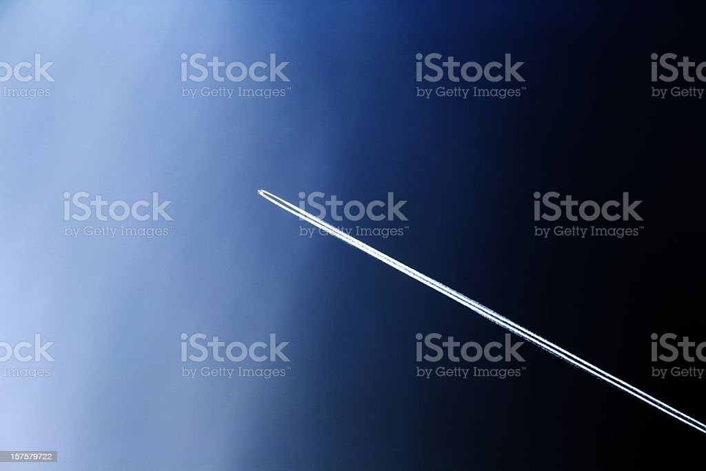 journey into space stock photo