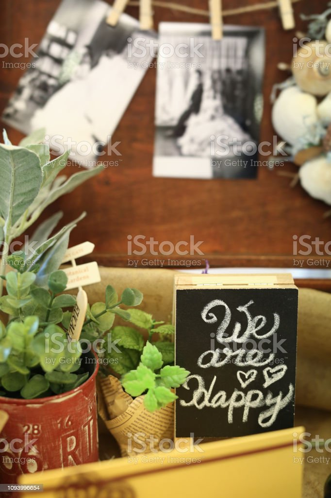 Journey of happiness stock photo