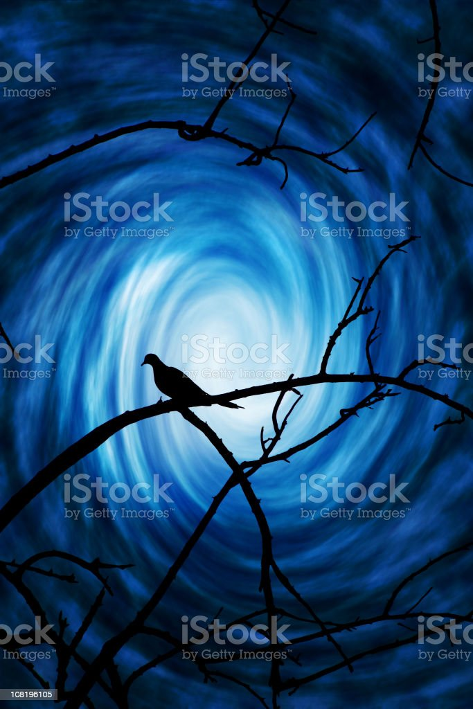 Journey To Heaven royalty-free stock photo
