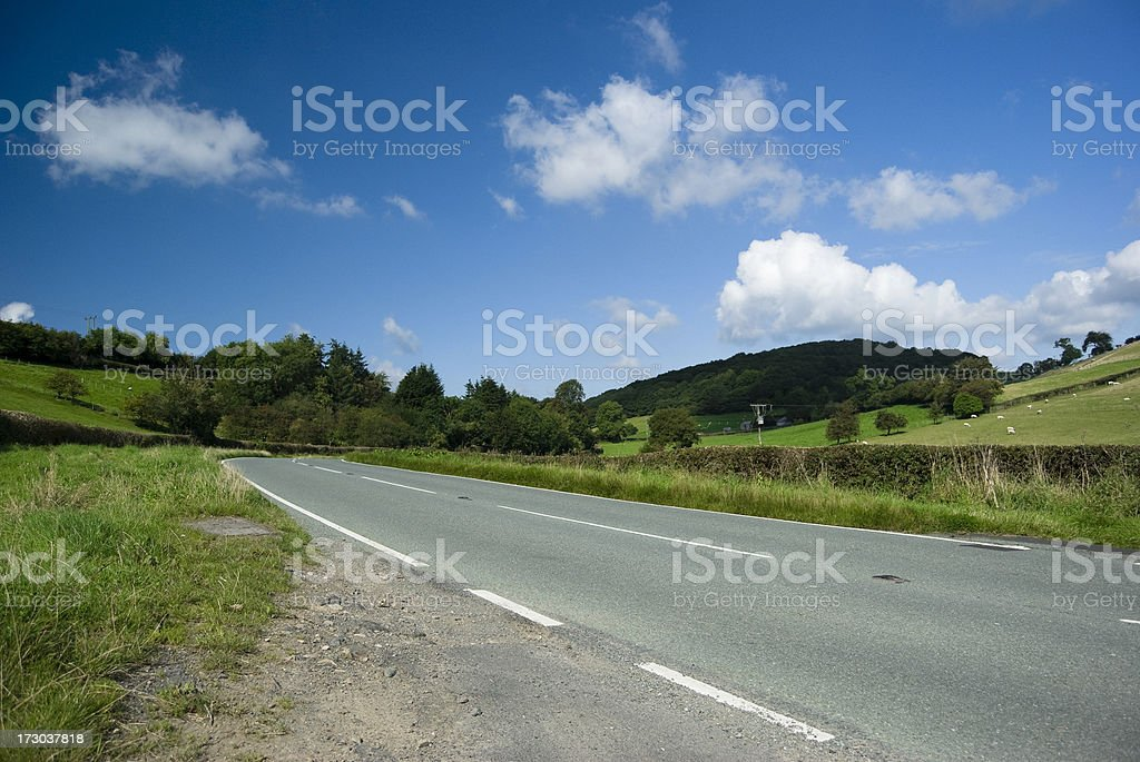 Journeys road royalty-free stock photo