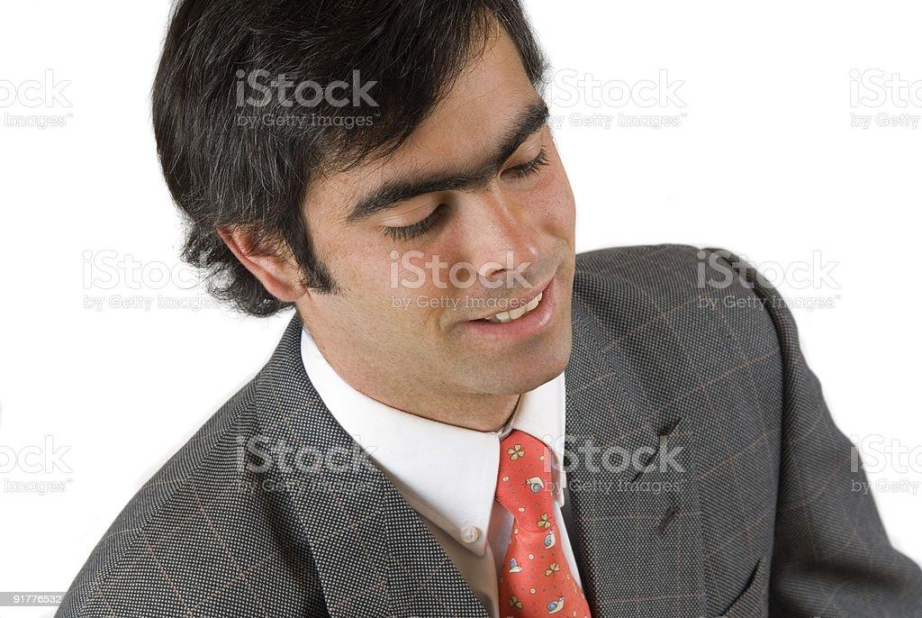 joven ejecutivo - foto de stock