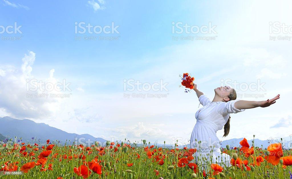 joy and happiness royalty-free stock photo