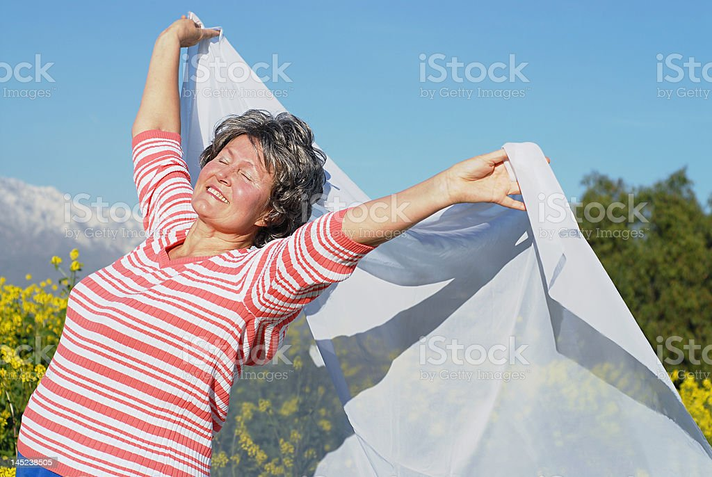 Joy in the moment royalty-free stock photo