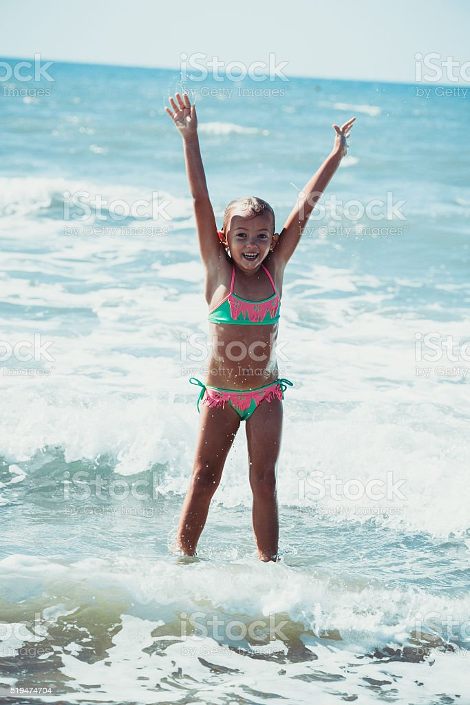 joy of being at sea stock photo