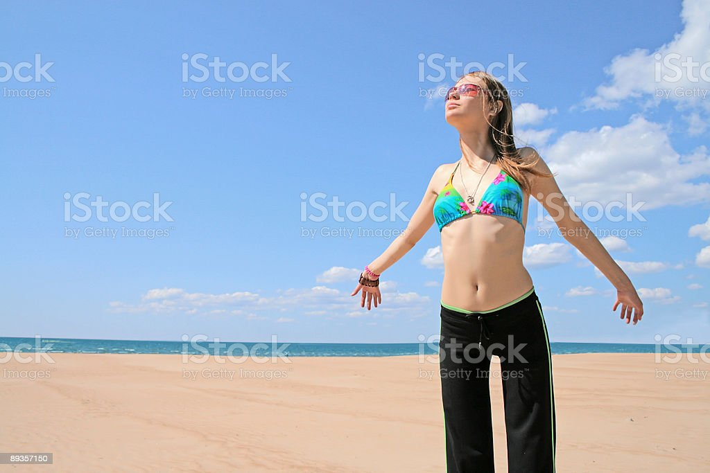 joy of summer royalty-free stock photo