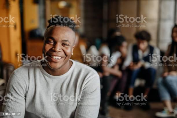 Joyful black man with beautiful smile picture id1186218137?b=1&k=6&m=1186218137&s=612x612&h=6yyx7oke8xatbtjyahxbsuxqwk4tqpgnan3 n3jvapo=
