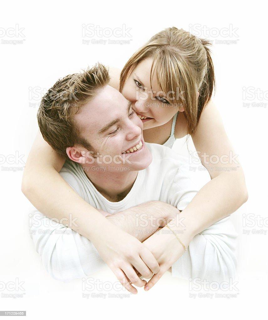 Joyful Closeness royalty-free stock photo