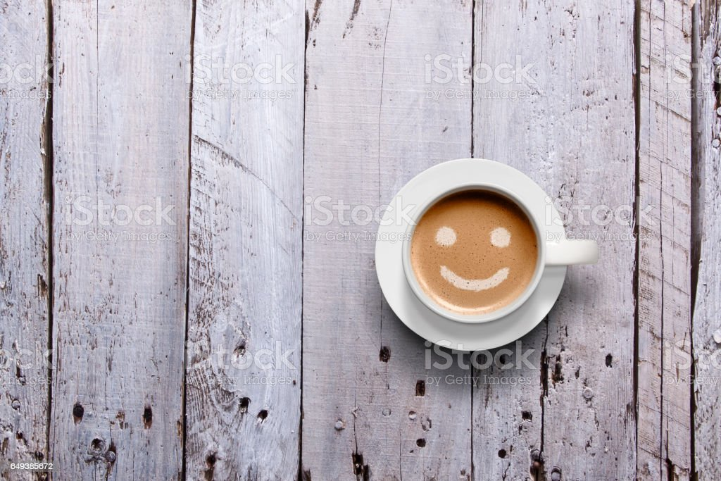 Joyful Coffee stock photo