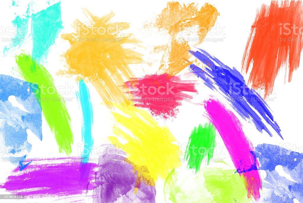 joyful colored background royalty-free stock photo