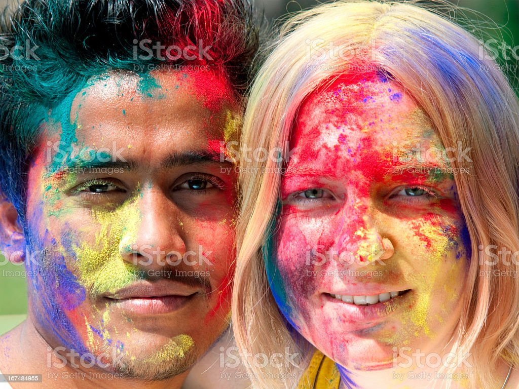 Joyful Holi. royalty-free stock photo