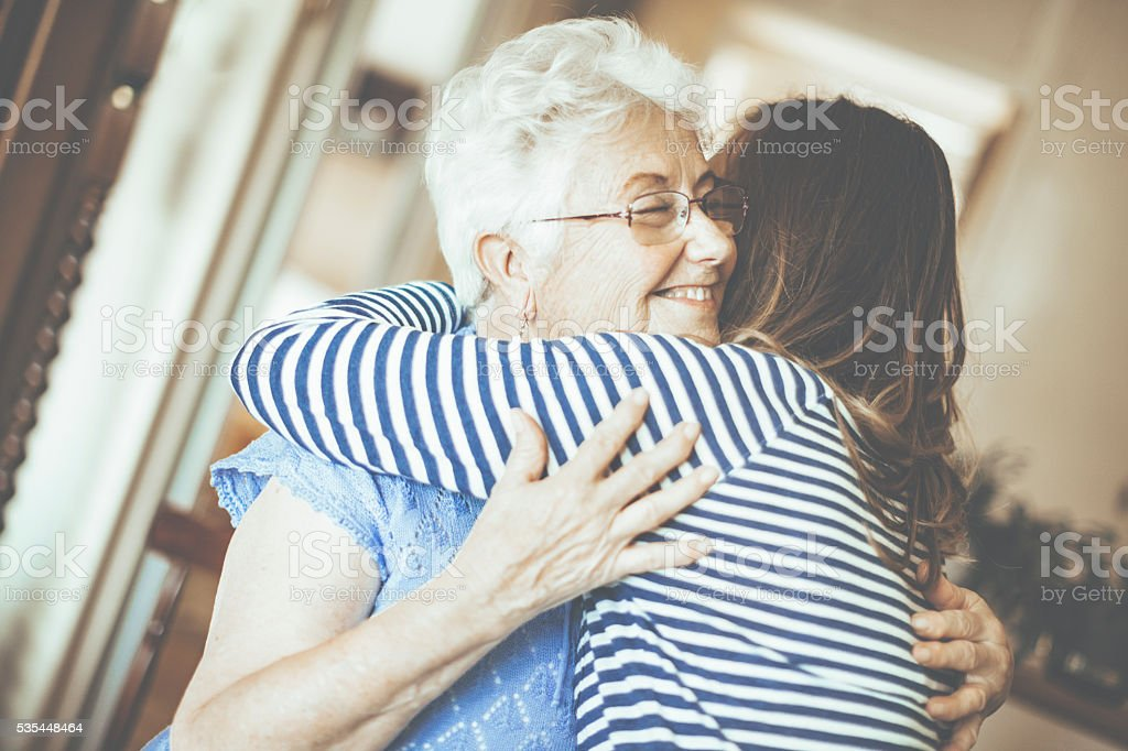 Joyful moment stock photo