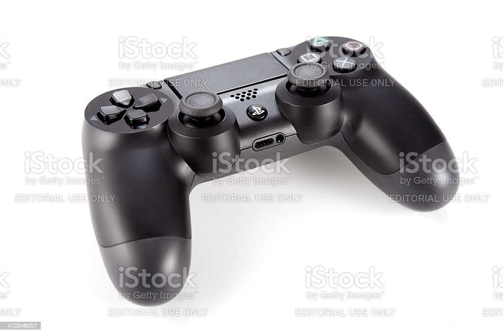 Joypad for Dualshock Play Station 4 stock photo