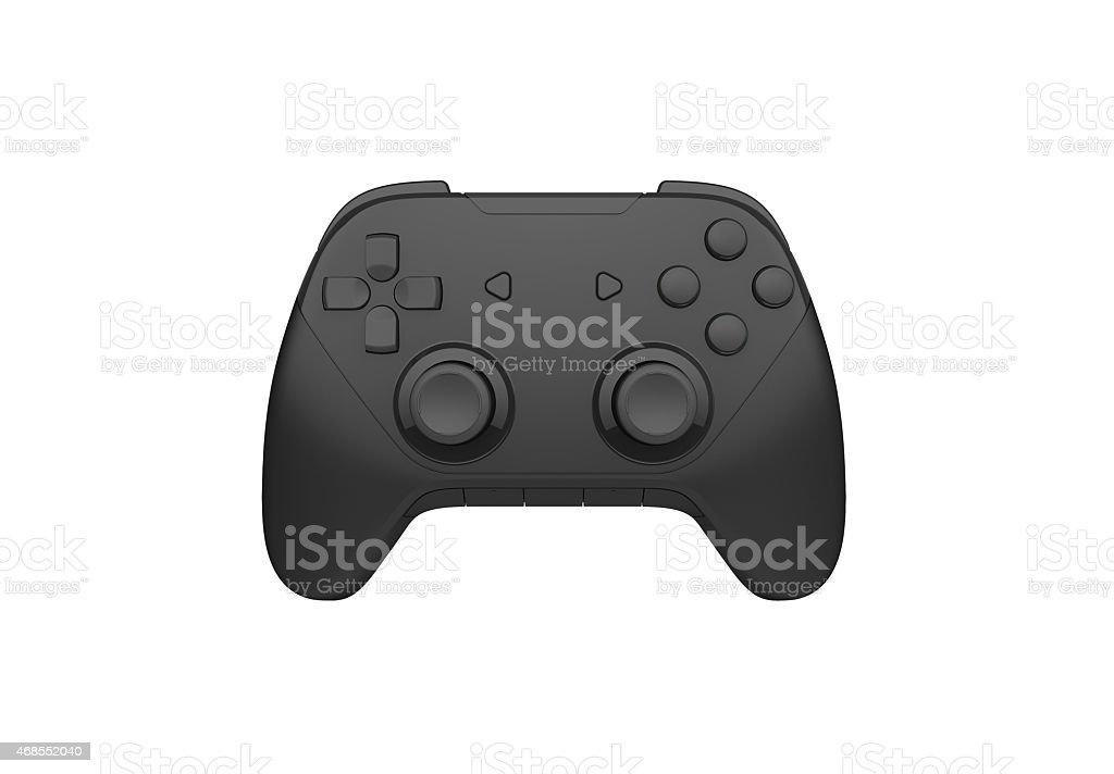 joystick on a white background stock photo