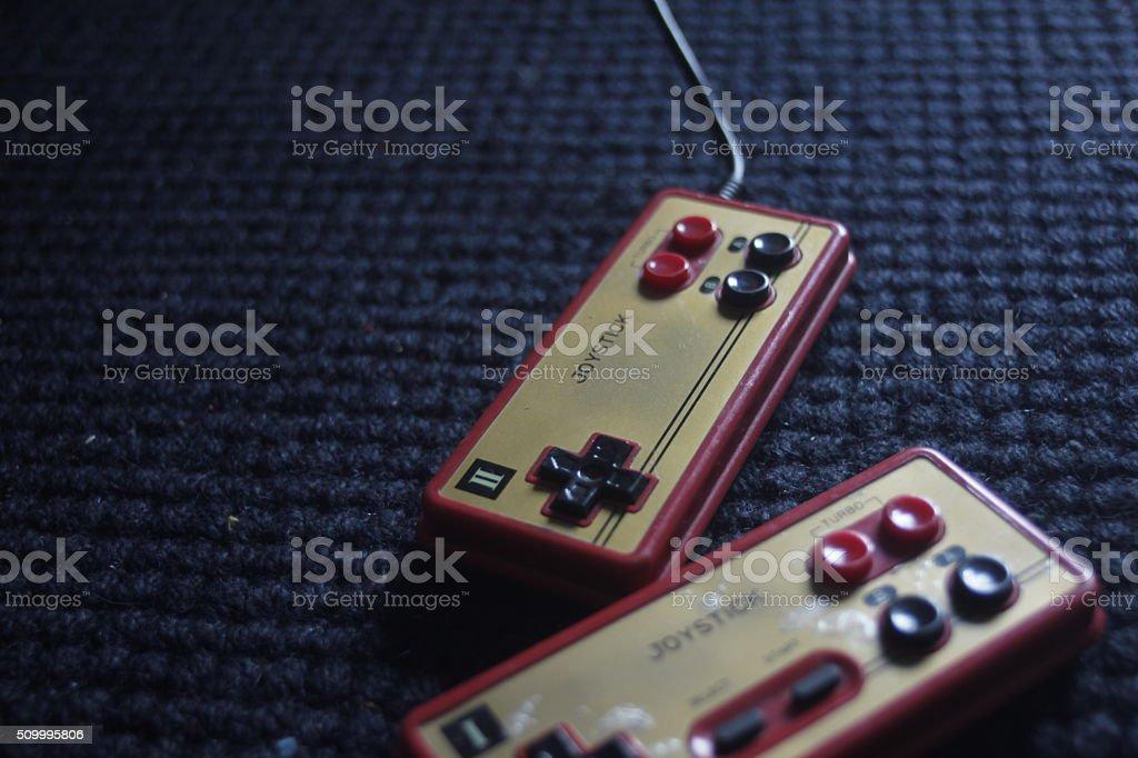 Joystick stock photo