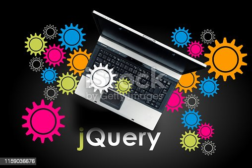 Laptop on word jQuery