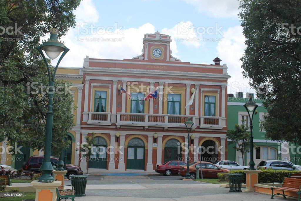 Juana Díaz City Hall stock photo