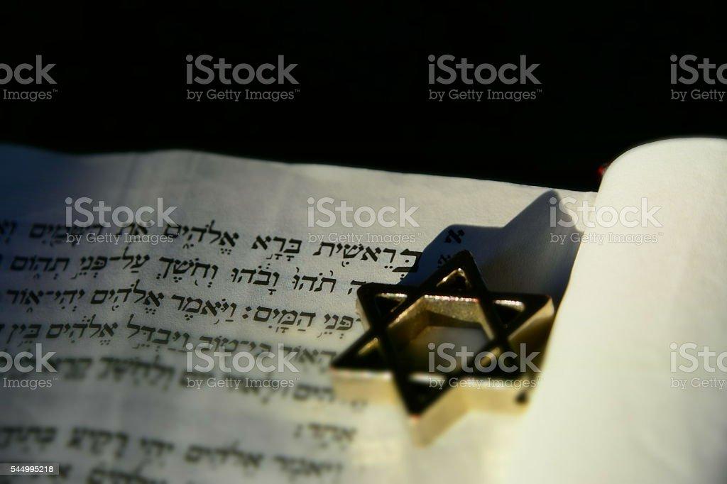 Judaism and faith concept stock photo