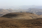 Middle East. Israel. Judaea. 08/05/2013. This colorful image depicts Judean desert.