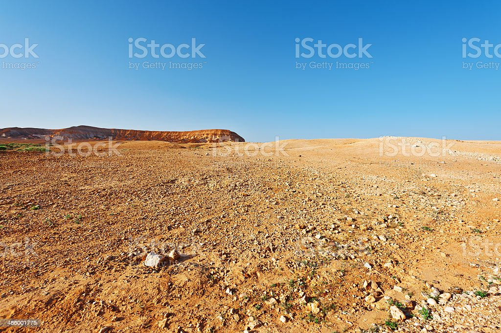 Judean Desert stock photo