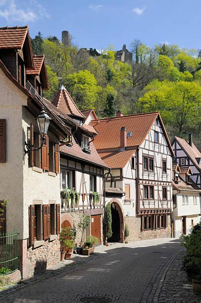Judengasse in Weinheim, Deutschland – Foto