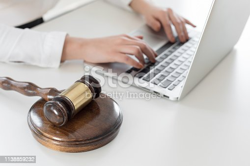 663458084 istock photo Judge gavel and lawyer 1138859232