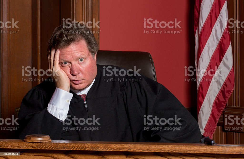 Image result for judge bored