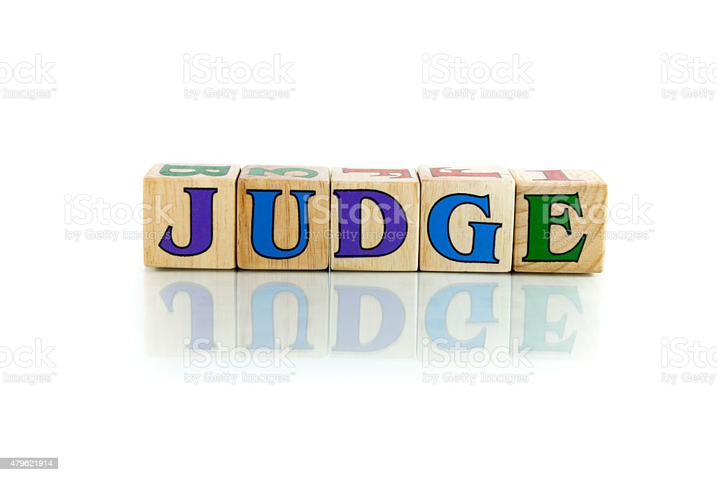 judge stock photo