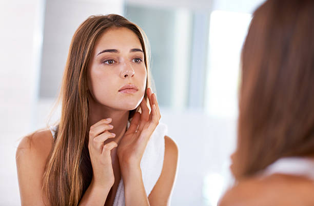 Judging beauty stock photo