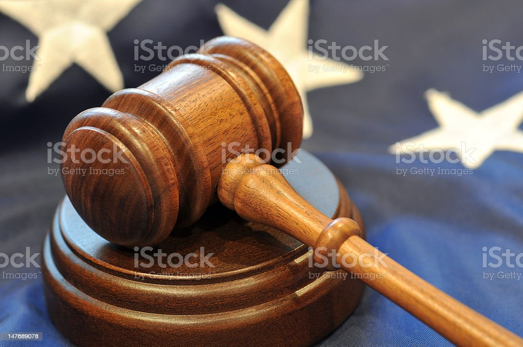 Judicial Branch stock photo