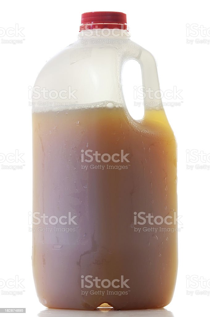 Jug of Apple Cider stock photo